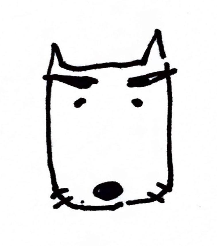 犬 マユゲ で いこう